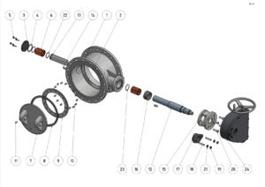 Armaturenreihe Typ A - Explosionszeichnung - Rev.2